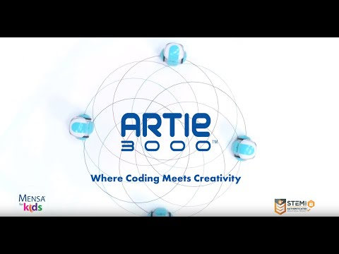 Youtube Video for Artie 3000 - WiFi Drawing Robot