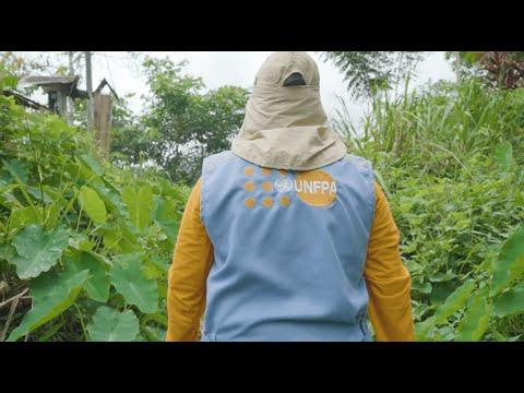 Brigadistas UNFPA - Programa Conjunto ONU Nuwa Tajimat en Condorcanqui