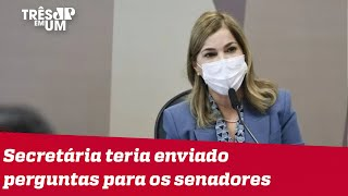 Vídeo revela combinação de Mayra Pinheiro para depoimento na CPI da Covid