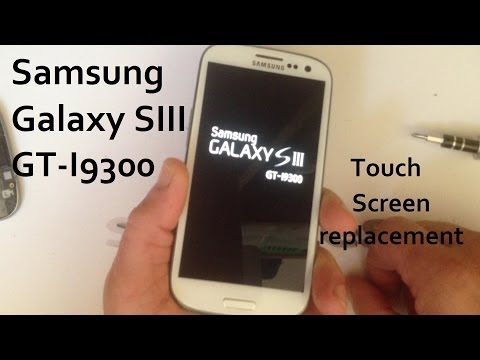 Samsung Galaxy S3 / S III / i9300 - Touch Screen / LCD Display / Frame replacement.