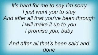 Barry Manilow - Hard To Say I'm Sorry Lyrics_1