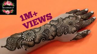 Rakhi Special | Stylish Arabic Henna Design | Beautiful Easy Mehndi Design | #113 Zara Mehendi Art