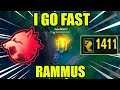 I AM THE FAST - RAMMUS - NEW PREDATOR KEYSTONE 1400 MOVESPEED