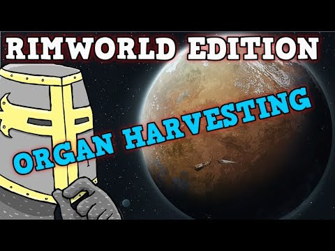 Rimworld IN A NUTSHELL - 100 Stat Man Rimworld Organ Harvesting