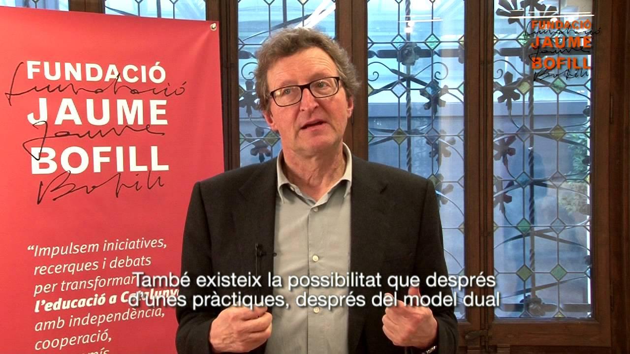 "Philipp Gonon ""Quin model d'FP dual necessita Catalunya?"""