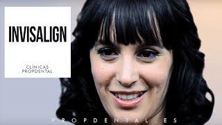 Invisalign de Gina Tost - Testimonio ortodoncia invisalign - Clínica Dental Propdental Encants