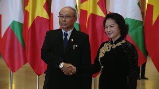 Tin Tức 24h: Đẩy mạnh hợp tác Quốc hội Việt Nam - Myanmar