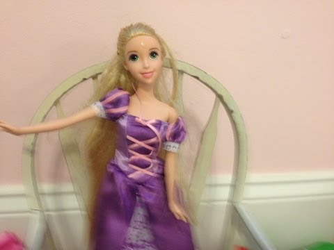 Disney Princess Color Change Brush Rapunzel Doll