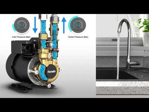 Flomate pumps - The solution to low mains water pressure