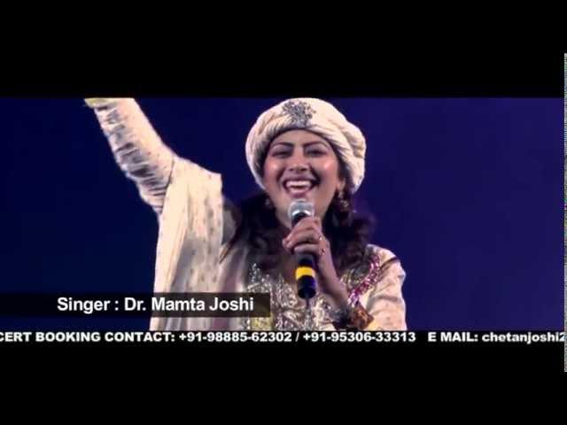 """DR MAMTA JOSHI SINGING TRADITIONAL/FOLK PUNJABI SONG:AAJ KALA CHOLA PAA"""""""