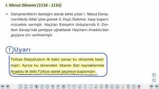 Eğitim Vadisi TYT Tarih 7.Föy Türklerin İslamiyeti Kabulü 1 Konu Anlatım Videoları