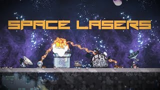Oxygen Not Included - Space Laser Defense System!