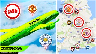 I Flew To All 20 Premier League Stadiums In 24 Hours... (Microsoft Flight Simulator)