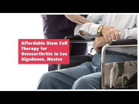 Affordable Stem Cell Therapy for Osteoarthritis in Los Algodones, Mexico