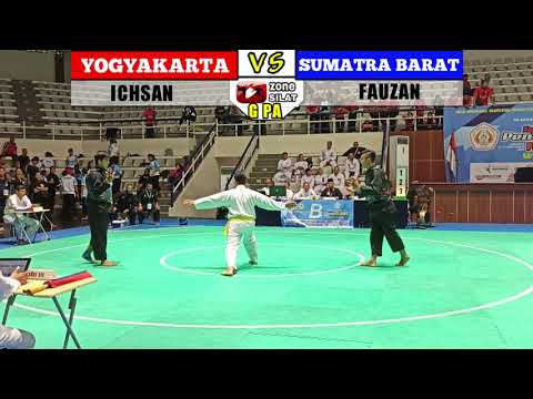 G Putra DI Yogyakarta Ichsan VS Fauzan  Sumatra Barat PRA PON pencaksilat