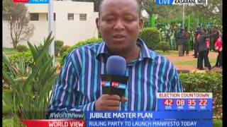 A glimpse of Jubilee's manifesto ahead of the planned launch at Kasarani Sport's Center