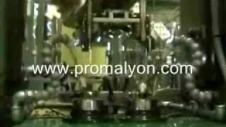 Chargement de machine de brochage