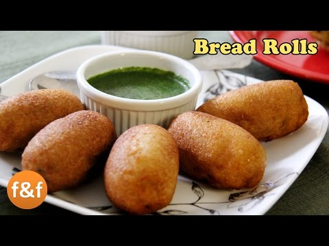 Bread Rolls Recipe | Potato Bread Rolls | Indian Breakfast Recipe – Evening snacks recipes