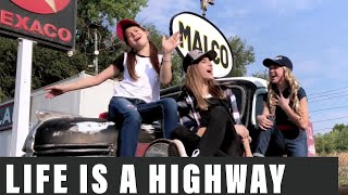 Life Is a Highway Disney Pixar CARS | Lydia Oakeson Lyza Bull & Isabel Oakeson (Cover)