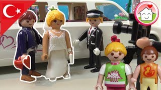 Playmobil Türkçe Şatoda Düğün - Hauser Ailesi - Çocuk filmi