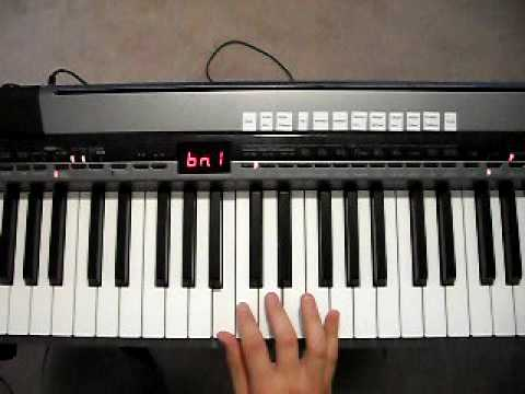 How To Play Bm chord on Piano