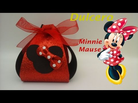 Dulcero De Minnie Mouse De Foamy Para Fiestas Infantiles. Mp3