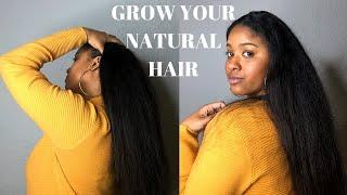 HOW TO GROW LONG HEALTHY NATURAL HAIR - Adrienne Fox