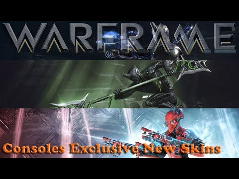 Warframe - Consoles Exclusive New Skins