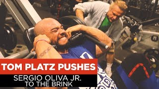 Tom Platz Pushes Sergio Oliva Jr. TO THE BRINK