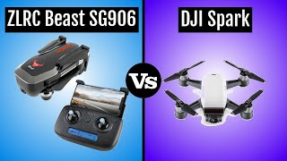 ZLRC Beast SG906 vs DJI Spark