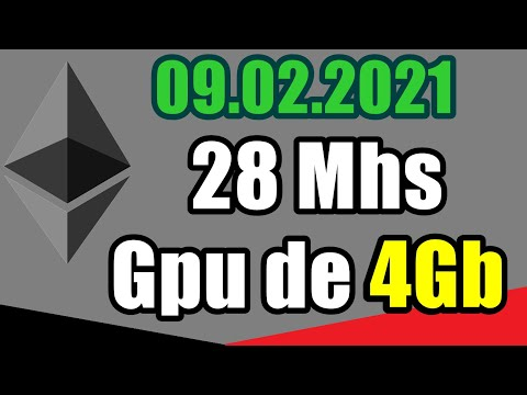 4Gb - 28Mhs no Ethereum