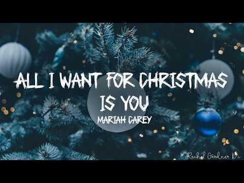 Mariah Carey - All I Want For Christmas Is You (Lyrics)