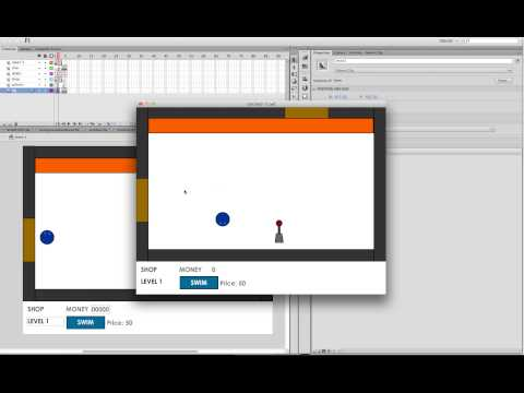 How to make a Platformer Game Flash AS3 | Part 5: Making levers and