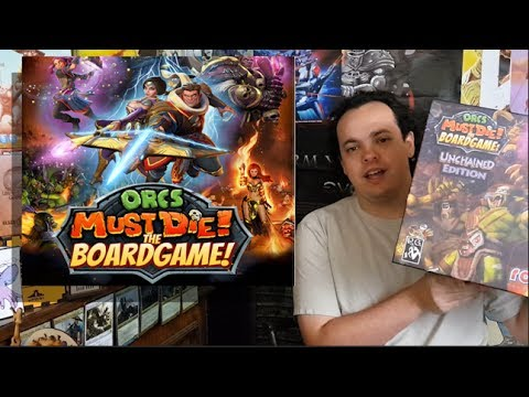 Orcs Must Die - Unchained Edition - Board Game Review
