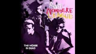 Anti nowhere league (UK) - The Horse is Dead LIVE 1996 FULL ALBUM