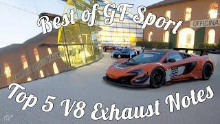 Best Of GT Sport: Top 5 V8 Sounds