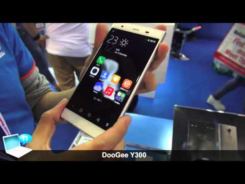 DooGee Y300 smartphone with in-cell display