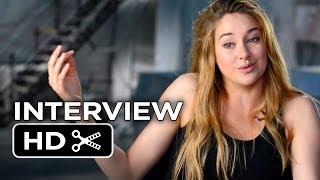 Divergent Interview - Shailene Woodley (2014) - Movie HD