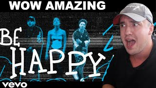 Dixie D'Amelio - Be Happy (ft. blackbear & Lil Mosey) [Remix] Official Lyric Video REACTION