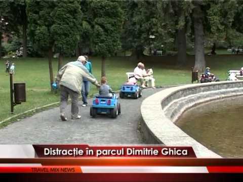 Distracţie în parcul Dimitrie Ghica – VIDEO