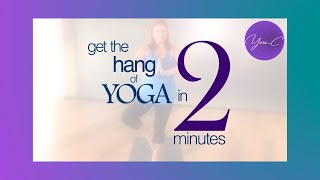 FITNESS 101 EP#9 : GET THE HANG OF YOGA IN 2 MINUTES ✨ GET FIT #18