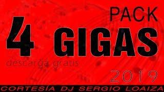 Pack 4 GIGAS DE MÚSICA Variada ✔ Gratis 2019