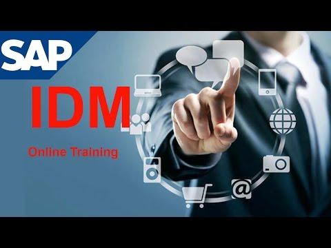 SAP IDM TRAINING VIDEO | SAP IDENTITY MANAGER 7.2 - 8.0 ...