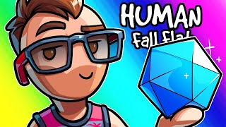 Human Fall Flat Funny Moments - Moo is a TryHard!