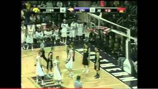 Iowa Hawkeyes at UNI Basketball - 12/7/11 - Horrible Officiating - All fouls against Iowa