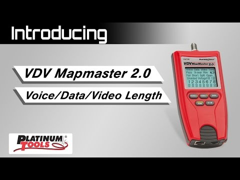 VDV MapMaster 2.0 - Overview