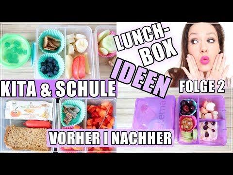 Brotdose I Lunchbox I Snacks I Frühstück für KITA I Schule I EPISODE 2