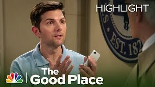 Michael and Trevor Square Off - The Good Place (Episode Highlight)