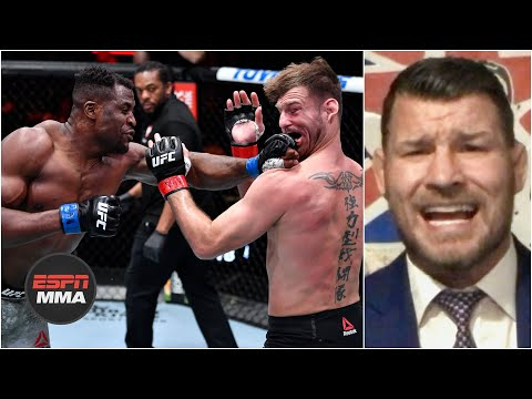 Reaction to Francis Ngannou's knockout win vs. Stipe Miocic | UFC 260 Post Show | ESPN MMA