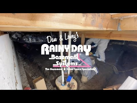 1 Minute Crawl Space Transformation